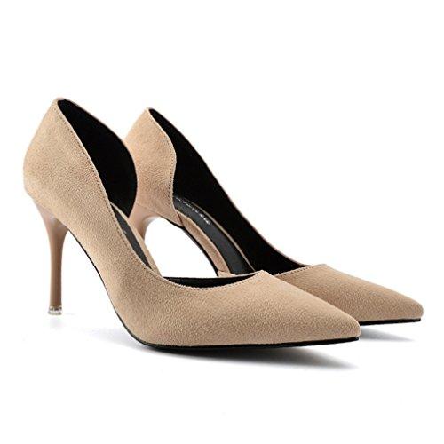XTIAN - Scarpe con Tacco Donna albicocca