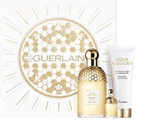 Guerlain Aqua Allegoria Mandarine Basilic 125ml eau de toilette + 7.5ml eau de toilette + 75ml body lotion