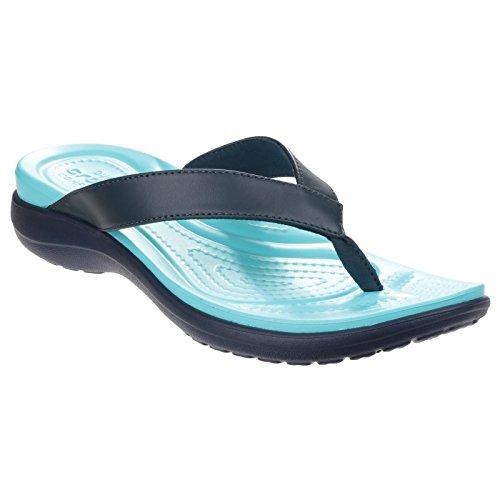 Crocs - Capri V W, Sandali Donna Chai/Noce