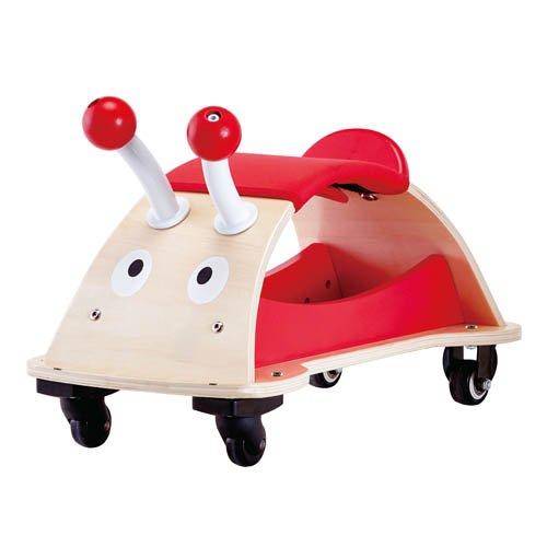 Hape Ladybug Käfer mobil Rutscher Sitzroller Rutscherfahrzeug Kinderfahrzeug Marienkäfer