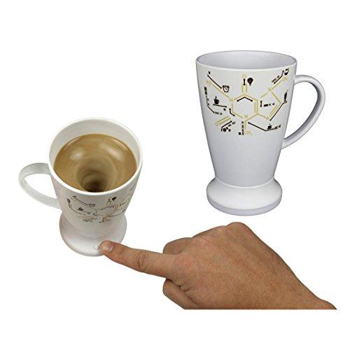 Self stirring mug tazza automescolante mug tisane cappuccino termica con coperchio