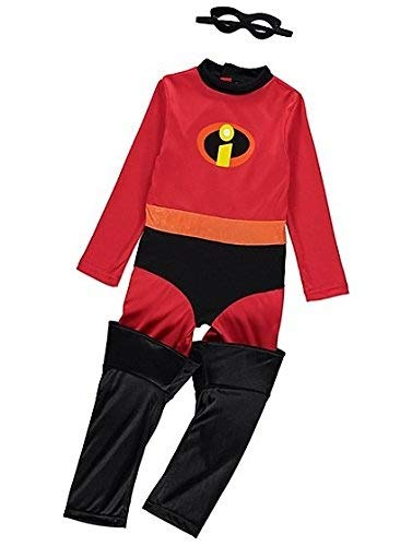 George Disney The Incredibles 2 Violet Girls Fancy Dress Costume Outfit (3-4 years)
