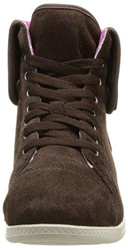 Crocs Lopro Suede Hi-Top Sneaker W Damen Sneaker  CR.12703 Braun (ESFU)