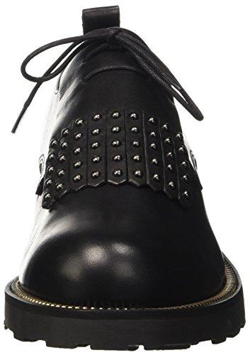 Cult Zeppelin Low 1166, Pantofole a Collo Basso Donna Nero (Black)