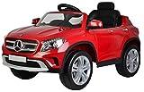 BZR-MY Bicicletta elettrica per Bambini, Auto Sportiva elettrica a Quattro Ruote, LED della Batteria elettrica, i Bambini Possono Cavalcare Giocattolo Bicicletta, con i Genitori Telecomando,Red