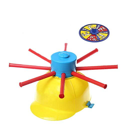 Ardorman Wet Head Game, Lustiges Wet Hat Water Challenge Roulette-Spiel, Game Hat Für Kinder, Turntable Wet Head Challenge Cap Für Familienfeier