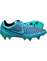 detailed pictures ee012 3c18e NIKE Magista Opus SG Pro de football Chaussures Crampons de chaussures de  football bleu