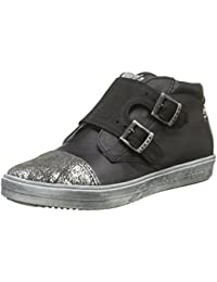 IKKS Black High Snea, Zapatillas Altas para Hombre, Negro (Noir 02), 44 EU