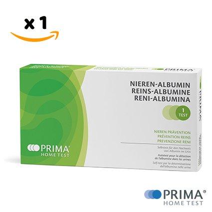 PRIMA Home Test - Albumi Nieren Test (Urin) - Gesundheitstest und Nierenfunktion