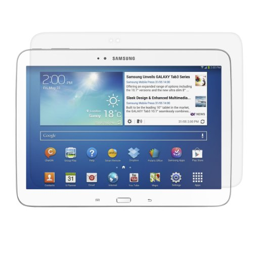 kwmobile Samsung Galaxy Tab 3 10.1 P5200/P5210 Folie - Full Screen Tablet Schutzfolie für Samsung Galaxy Tab 3 10.1 P5200/P5210 klar (3 Protector Tablet Screen Samsung)