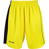 Spalding - 4Her II Shorts Woman, color amarillo, talla XS