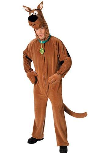 Erwachsene Scooby-Doo Kostüm Kostüm