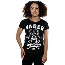 Star Wars mujer Darth Vader Collegiate Camiseta