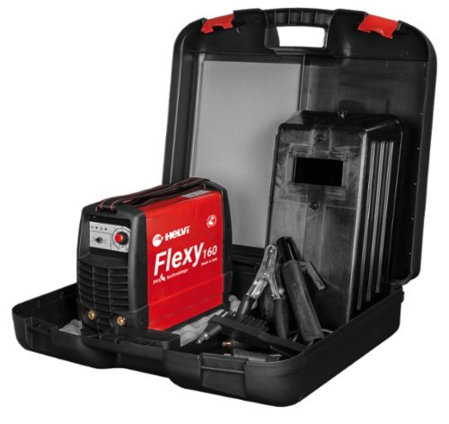 Schweißgerät Inverter TIG MMA Flexy 160 Kit Koffer Helvi - Inverter-gas-generator