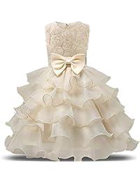 Styhatbag Vestidos Formales de Fiesta Vestidos de niñas Vestidos de Flores de la Boda del Partido