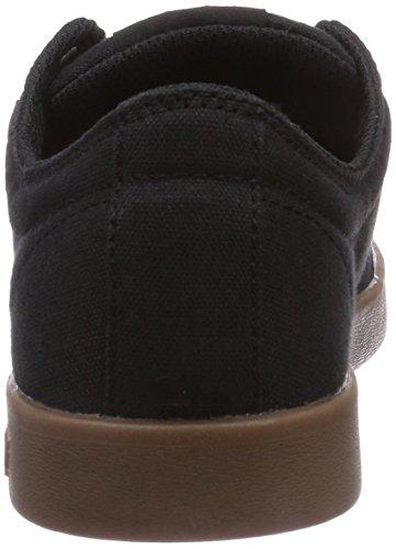 Supra STACKS II Unisex-Erwachsene Sneakers Schwarz (BLACK - GUM BGM)