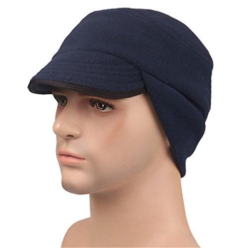 Queenbox® Unisex Multifunktionale Winter Winddicht Thermische Balaclava Face Cover Maske Kopfbedeckungen War Game Cap Defence Hood Radfahren Maske Balaclava Beanies