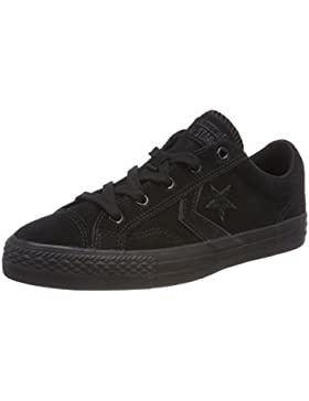 Converse Star Player Ox Black, Zapatillas Unisex Adulto