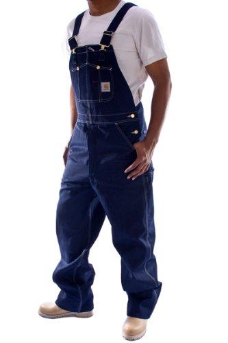 Denim Zip-fly-bib Overalls (Carhartt - Latzhose, Denim - Indigoblau jeanslatzhose jeans- latzhosen männer)