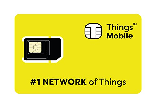 Things Mobile Prepaid SIM Karte für IOT und M2M mit Global Coverage ohne Fixkosten. Ideal für Hausautomation, GPS Tracker, Telemetrie, Alarme, Smart City, Automotive. Kredit inbegriffen.