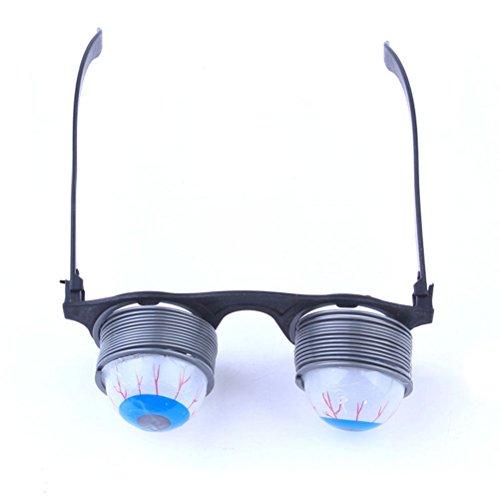 Toyvian Googly Auge Gläser - Dumm GOO GOO Drooping Augapfel