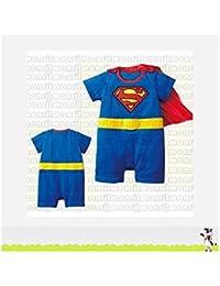 SUPERMAN, déguisement bébé 6/9 mois,9/12 mois,12/18 mois,18/24 mois