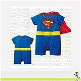 Superman, disfraz bebé 6/9Meses, 12/18Meses, 18/24Meses, 9/12Meses