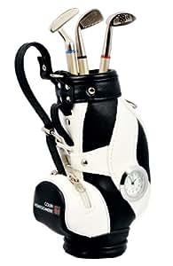 Colin Montgomerie Golfschläger Kugelschreiber Set Mini Golftaschen