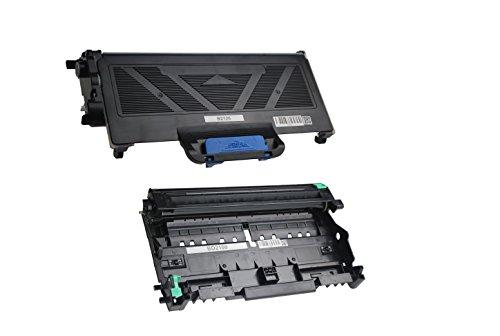 Kompatibel zu Brother TN-2120 Toner Black & DR-2100 Trommeleinheit - Set für ca. 2.600 & 12.000 Seiten (5% Deckung) - u. a. für Brother DCP-7010, Brother MFC-7840W -