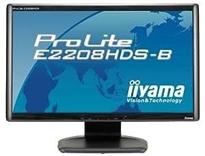 "Iiyama Pro Lite E2208HDS-2 Ecran PC LCD 22"" TFT 1000:1 2 ms DVI-D / VGA Haut-parleurs noir"