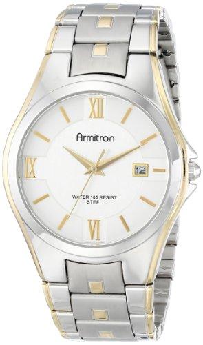 Armitron 20/4413SVTT - Reloj de Pulsera Hombre, Acero Inoxidable, Color Plata