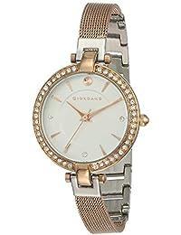 Giordano Analog Silver Dial Women's Watch - C2017-22