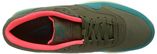 Nike Air Max 1 537383, Herren Low-Top Sneaker Braun (Braun/Orange)