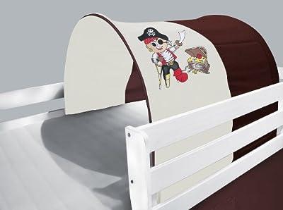 Túnel / Cueva para cama alta cama de juego marrón/beige - TSG-59