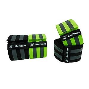 Kultkorn BodyReflektor-Set/Körper Reflektor/Warnweste/Fahrrad/Joggen