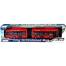 Autobús articulado de juguete