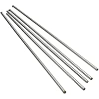 5 x 304 Acero Inoxidable Tubo Capilar Dd 3mm Id 2mm Longitud 250mm