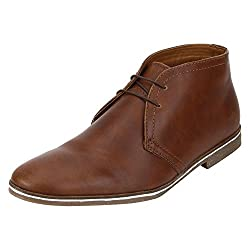 Bond Street by (Red Tape) Mens Tan Boots - 7 UK/India (41 EU)
