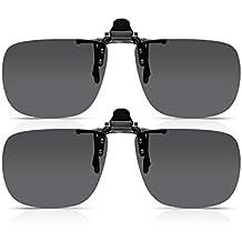 Amazon.fr : clip lunettes de soleil - Gris