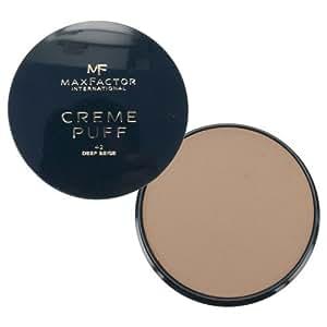 Max Factor Deep Creme Puff Refill Powder, Beige