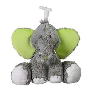 Peluche - Eléphant Tobias : 20 cm