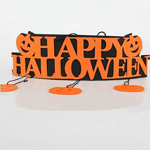 Mondeer Hängende Dekoration Halloweens, Halloween-Türdekorationen, die Party-Verzierungs-Partei-Partei -