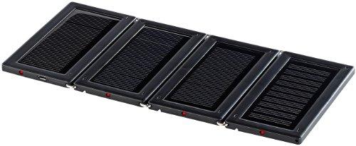 Zelle Solar (revolt Tragbare Solar Panels: Faltbares Mini-Solarpanel mit 4 monokristallinen Zellen (Solarlade Adapter))