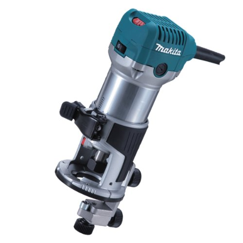Makita RT0700CX4/1 110V Router/ Laminate Trimmer with Trimmer Guide