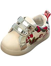 K-youth® Zapatillas Niño Zapatillas Para Bebés Zapatos de Bebé Zapatillas de Deporte Antideslizante Zapatillas con Luces Para Niñas Niños Zapatos LED Niños Niñas