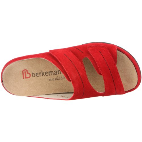 Berkemann Melbourne Fedora washable 01080, Chaussures femme - Rouge Rouge