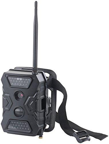 VisorTech Wildkamera GSM Modul: Full-HD-Wildkamera WK-620.gsm mit Bewegungsmelder, IR, GSM (Wildcamera Gsm)