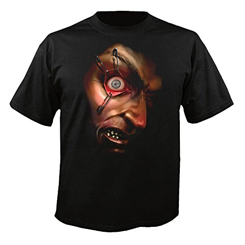 Digital Dudz Shirt, Motiv: Verzweifeltes bewegliches Auge  mehrfarbig (Morphsuits Billig)