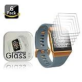 Ycloud [6 Stück PET Schutzfolie Bildschirmschutzfolie für Fitbit Ionic Health und Fitness Smartwatch HD klar Flexible Folie mit Anti-Kratzer Blasenfrei