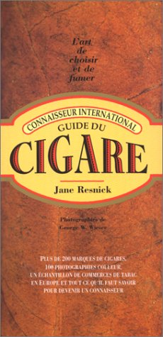 Guide du cigare par Jane Resnick